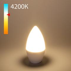 """фото Светодиодная лампа """"Свеча"""" C37 8W 4200K E14 BLE1403"""