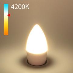 """фото Светодиодная лампа """"Свеча"""" C37 8W 4200K E27 BLE2716"""