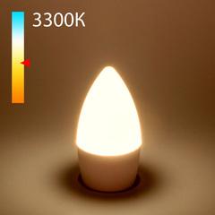фото Светодиодная лампа Свеча СD LED 8W 3300K E27 BLE2711