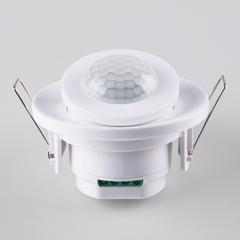 фото Инфракрасный датчик движения  8m 2,2-4m 800W IP20 360 Белый SNS-M-12