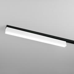 фото Трековый светодиодный светильник для однофазного шинопровода X-Line 10W 4200K белый матовый LTB53