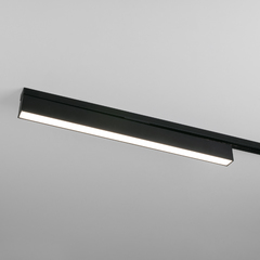 фото Трековый светодиодный светильник для однофазного шинопровода X-Line10W 4200K черный матовый LTB53