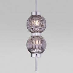 фото Подвесной светильник со стеклянными плафонами 50186/2 хром