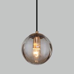 фото Подвесной светильник со стеклянным плафоном 50207/1 янтарный