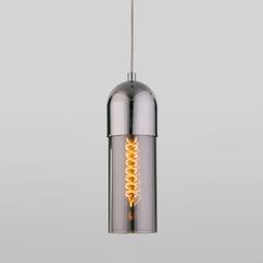 фото Подвесной светильник со стеклянным плафоном 50180/1 дымчатый