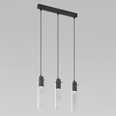 фото Подвесной светильник со стеклянными плафонами 855 Look Graphite