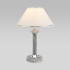 фото Классическая настольная лампа 60019/1 мрамор