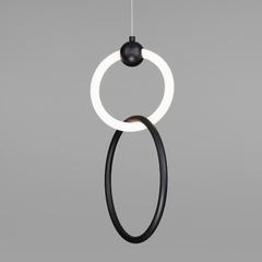 фото Подвесной светодиодный светильник 90166/2 черный