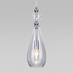 фото Подвесной светильник со стеклянным плафоном 50202/1 прозрачный