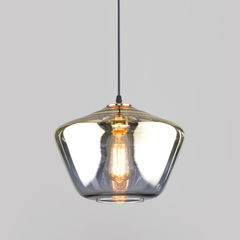 фото Подвесной светильник со стеклянным плафоном 50199/1 золото