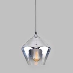 фото Подвесной светильник со стеклянным плафоном 50198/1 хром