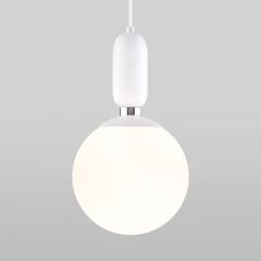 фото Подвесной светильник со стеклянным плафоном 50197/1 белый