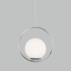 фото Подвесной светильник со стеклянным плафоном 50089/1 хром
