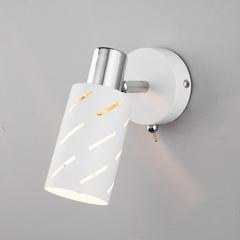 фото Настенный светильник с поворотным плафоном 20090/1 белый/хром