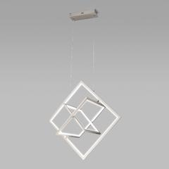 фото Подвесной светодиодный светильник 90224/3 матовое серебро