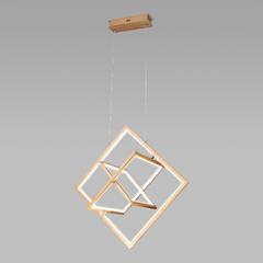 фото Подвесной светодиодный светильник 90224/3 матовое золото