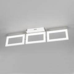 фото Потолочный светодиодный светильник 90223/3 белый