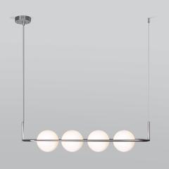 фото Подвесной светильник со стеклянными плафонами 50089/4 хром