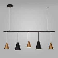 фото Подвесной светильник 50088/5 черный/золото