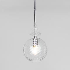 фото Подвесной светильник со стеклянным плафоном 50192/1 прозрачный