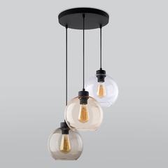 фото Подвесной светильник со стеклянными плафонами 2831 Cubus