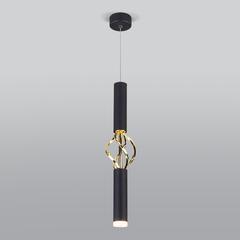 фото Подвесной светодиодный светильник 50191/1 LED черный/золото