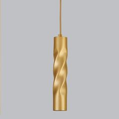 фото Подвесной светодиодный светильник 50136/1 LED золото