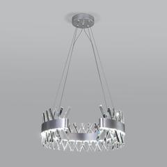 фото Подвесная светодиодная люстра с хрусталем 432/1 Strotskis