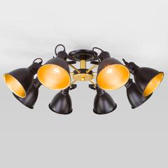 фото Потолочная люстра с поворотными рожками 70112/8 черный