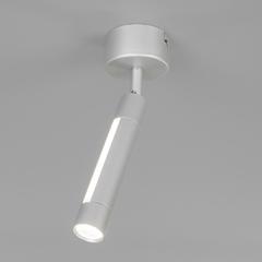 фото Настенно-потолочный светодиодный светильник 20084/1 LED серебро