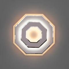 фото Настенный светодиодный светильник 90184/1 белый/хром