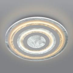 фото Потолочный светодиодный светильник с пультом управления 90209/1 белый