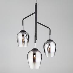 фото Подвесной светильник со стеклянными плафонами 50086/3 хром