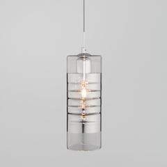 фото Подвесной светильник со стеклянным плафоном 50185/1 хром