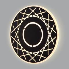 фото Настенный светодиодный светильник 40148/1 LED черный
