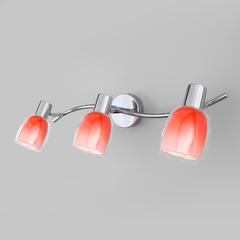 фото Настенный светильник с поворотными плафонами 20119/3 красный