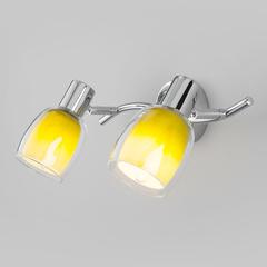 фото Настенный светильник с поворотными плафонами 20119/2 зеленый