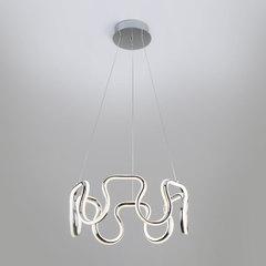 фото Подвесной светодиодный светильник 90171/2 хром