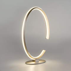 фото Настольный светодиодный светильник 80414/1 сатин-никель