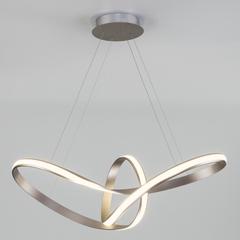фото Подвесной светодиодный светильник 90174/1 сатин-никель