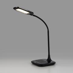 фото Светодиодная настольная лампа с беспроводной зарядкой 80419/1 черный