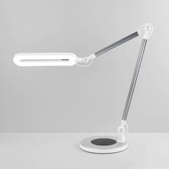 фото Светодиодная настольная лампа с сенсорным управлением 80420/1 серебристый