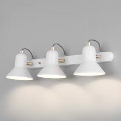 фото Настенный светильник с поворотными плафонами 20083/3 белый/золото