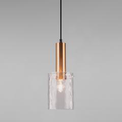 фото Подвесной светильник 50177/1 черный/бронза