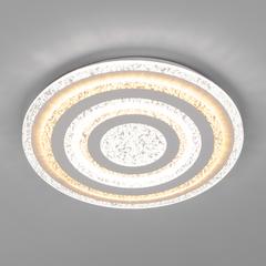 фото Светодиодный потолочный светильник с пультом управления 90161/1 белый