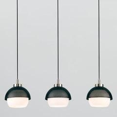 фото Подвесной светильник 50106/3 античная бронза/черный
