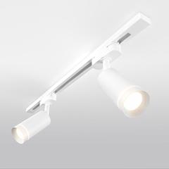 фото Трековый светодиодный светильник для однофазного шинопровода Glory Белый 7W 4200K LTB39