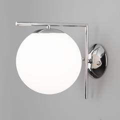 фото Настенно-потолочный светильник со стеклянным плафоном 70153/1 хром