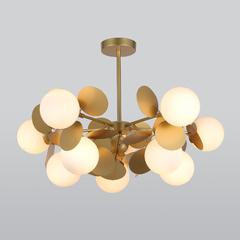 фото Потолочный светильник с круглыми плафонами 70124/10 перламутровое золото