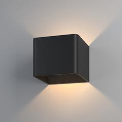 фото Настенный светодиодный светильник Corudo чёрный MRL LED 1060